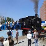 паровоз екатеринбург, свердловская детская железная дорога, детская жд дорога
