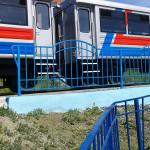 новый тепловоз, свердловская детская железная дорога, детская жд дорога