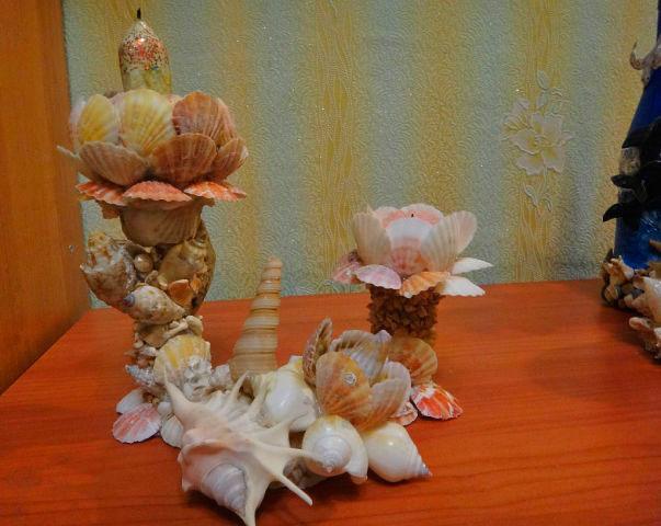 Поделки и сувениры из ракушек