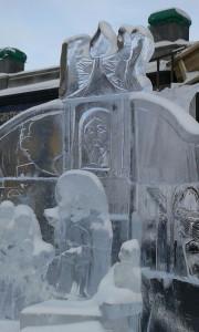 фестиваль вифлеемская звезда 2014, храм памятник на крови екатеринбург, международный рождественский фестиваль, рождество вифлеемская звезда, фестиваль вифлеемская звезда, фестиваль ледовых скульптур, празднование 700 летия сергия радонежского, сергий радонежский благословляет дмитрия донского, сергий радонежский куликовская битва