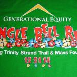 массовый забег, лучший забег, jingle bell run, рождественский забег, зимние спортивные мероприятия, штат Техас США, традиции Америки
