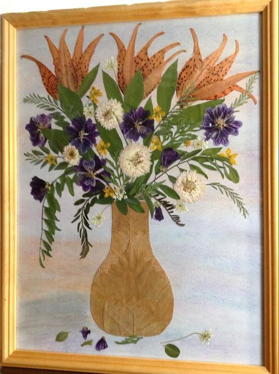 Для кружек, открытка плоскостная флористическая