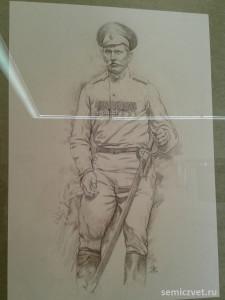 Пётр Щетинкин, герои Первой мировой войны, 100 летие Первой мировой войны, портреты героев Первой мировой войны, выставки первая мировая война