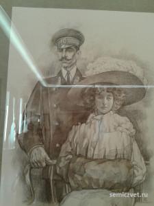 Анна Ревельская, Николай Бартенев, герои Первой мировой войны, 100 летие Первой мировой войны, портреты героев Первой мировой войны, выставки первая мировая война