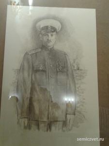 Василий Меркушов, герои Первой мировой войны, 100 летие Первой мировой войны, портреты героев Первой мировой войны, выставки первая мировая война