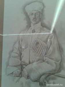 Пётр Врангель, герои Первой мировой войны, 100 летие Первой мировой войны, портреты героев Первой мировой войны, выставки первая мировая война