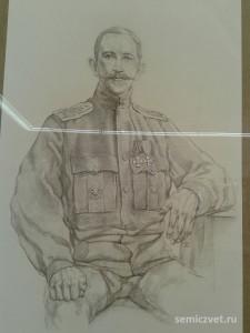 Александр Казаков, герои Первой мировой войны, 100 летие Первой мировой войны, портреты героев Первой мировой войны, выставки первая мировая война