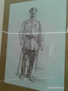 Гусейн-хан Начихеванский, герои Первой мировой войны, 100 летие Первой мировой войны, портреты героев Первой мировой войны, выставки первая мировая война