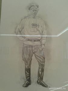 Андрей Мушта, герои Первой мировой войны, 100 летие Первой мировой войны, портреты героев Первой мировой войны, выставки первая мировая война