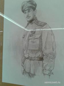 Юрий Гильшер, герои Первой мировой войны, 100 летие Первой мировой войны, портреты героев Первой мировой войны, выставки первая мировая война