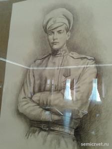 Родион Малиновский, герои Первой мировой войны, 100 летие Первой мировой войны, портреты героев Первой мировой войны, выставки первая мировая война