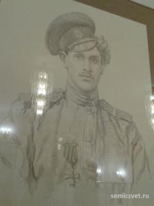 Козьма Крючков, герои Первой мировой войны, 100 летие Первой мировой войны, портреты героев Первой мировой войны, выставки первая мировая война