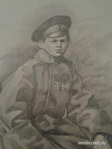Вася Наумов, герои Первой мировой войны, 100 летие Первой мировой войны, портреты героев Первой мировой войны, выставки первая мировая война
