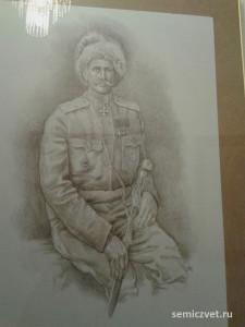 Фёдор Келлер, герои Первой мировой войны, 100 летие Первой мировой войны, портреты героев Первой мировой войны, выставки первая мировая война