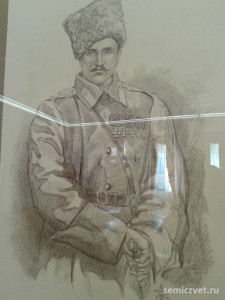 Иван Тюленев, герои Первой мировой войны, 100 летие Первой мировой войны, портреты героев Первой мировой войны, выставки первая мировая война