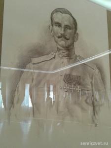 Пётр Сухачёв, герои Первой мировой войны, 100 летие Первой мировой войны, портреты героев Первой мировой войны, выставки первая мировая война