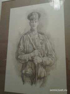 Николай Гумилёв, герои Первой мировой войны, 100 летие Первой мировой войны, портреты героев Первой мировой войны, выставки первая мировая война