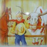 штат техас сша, дендропарк фото, сказки ковбой