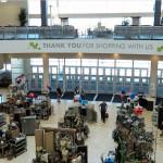 Вестибюль магазина. Магазин «Мебель из Небраски», штат Техас, США