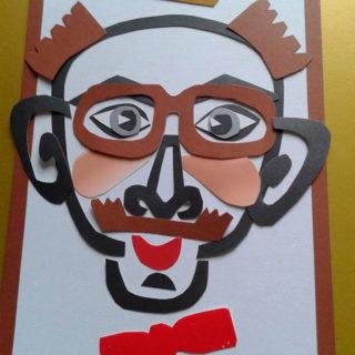 Портрет Юбиляра. Конкурс художников на празднике
