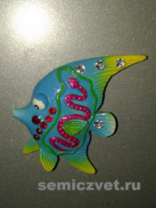 Рыбка-магнитик