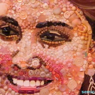 Джейн Перкинс «Принцесса Кейт Миддлтон». Портрет из предметов. Музей Рипли. Гранд-Прери, Техас, США