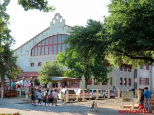 Иксчендж Авеню. Каутаун Колизей, Форт-Уорт, Техас