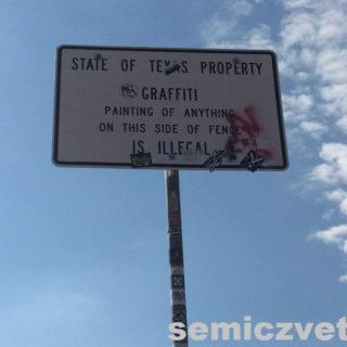 Ранчо Кадиллаков. Трасса I-40, Амарилло, Техас, США