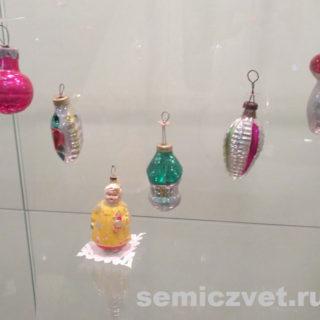Ёлочные игрушки СССР