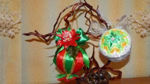 Новогодние украшения, сувениры, подарки, композиции своими руками
