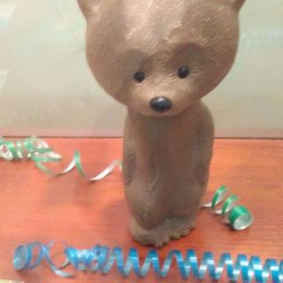 Новогодние игрушки. Мишка под Ёлку