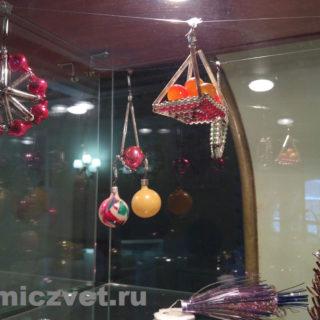 Новогодние ёлочные игрушки. Стеклянные композиции для ёлки