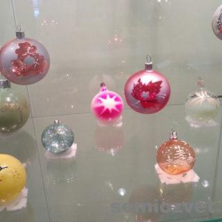Ёлочные игрушки СССР - шары из тонкого стекла