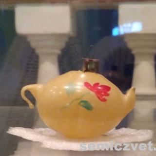 Ёлочная игрушка СССР «Чайник»