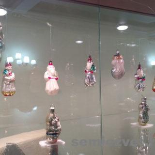 Первые стеклянные ёлочные игрушки СССР