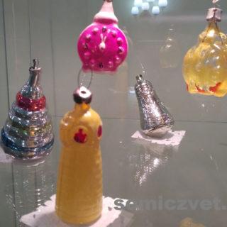 Ёлочные игрушки СССР. «Часы», «Маяк»