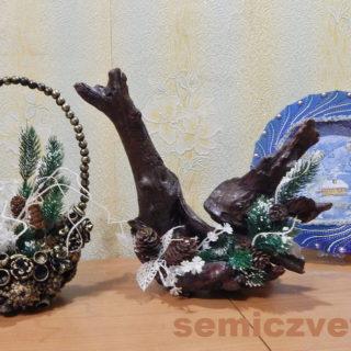 Сувенирная композиция «Птица Феникс» своими руками