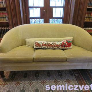 Упряжа Санта Клауса — на подушке