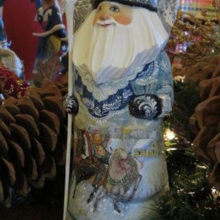 Дед Мороз из зимней сказки