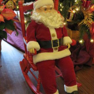 Санта Клаус под ёлку