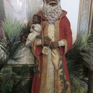 Санта с ангелом