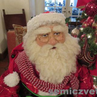 Красивый Санта Клаус