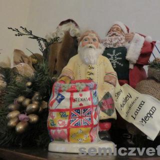 Рождественские подарки Санта Клауса