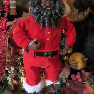 Темнокожий Санта Клаус