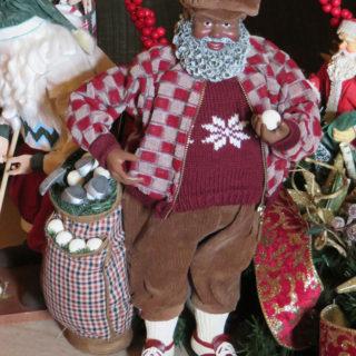 Санта Клаус спортсмен