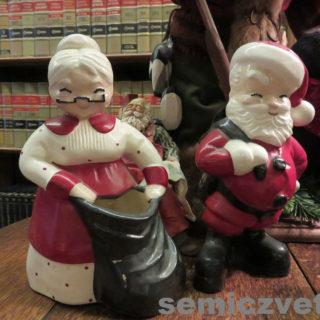 Санта и Миссис Клаус