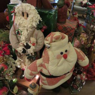 Смешные Санта Клаусы