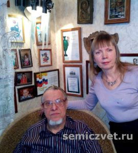 В гостях у художника-ювелира Владимира Хахалкина