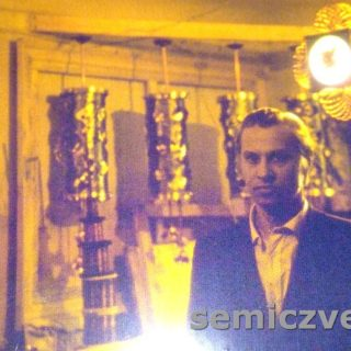 Владимир Хахалкин в мастерской, 1980-е годы
