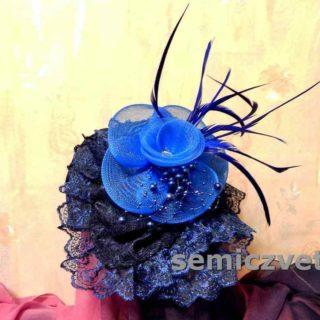 Шляпа-цветок своими руками